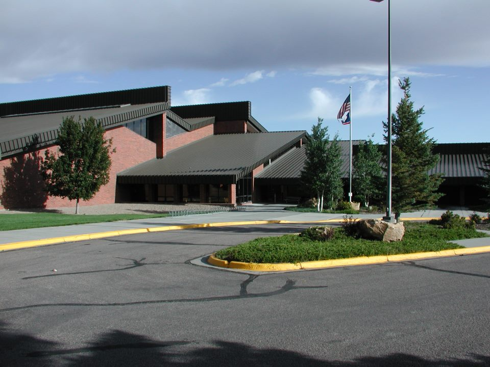 Front of Green River Rec Center