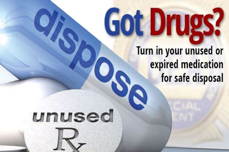 Dispose of unused prescription drugs- DEA