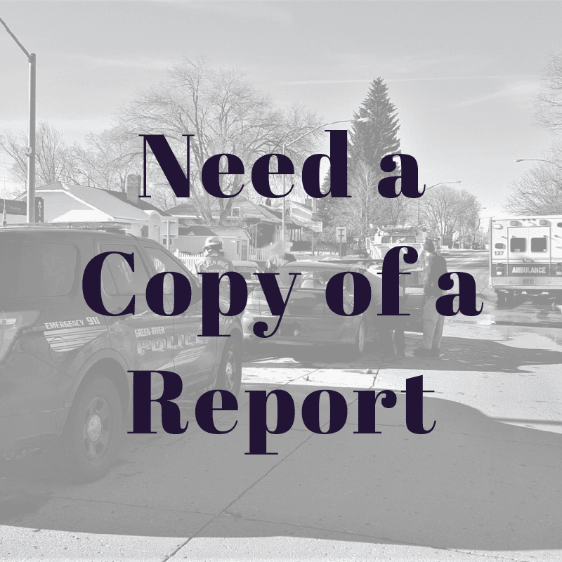 Need a Copy of a Report