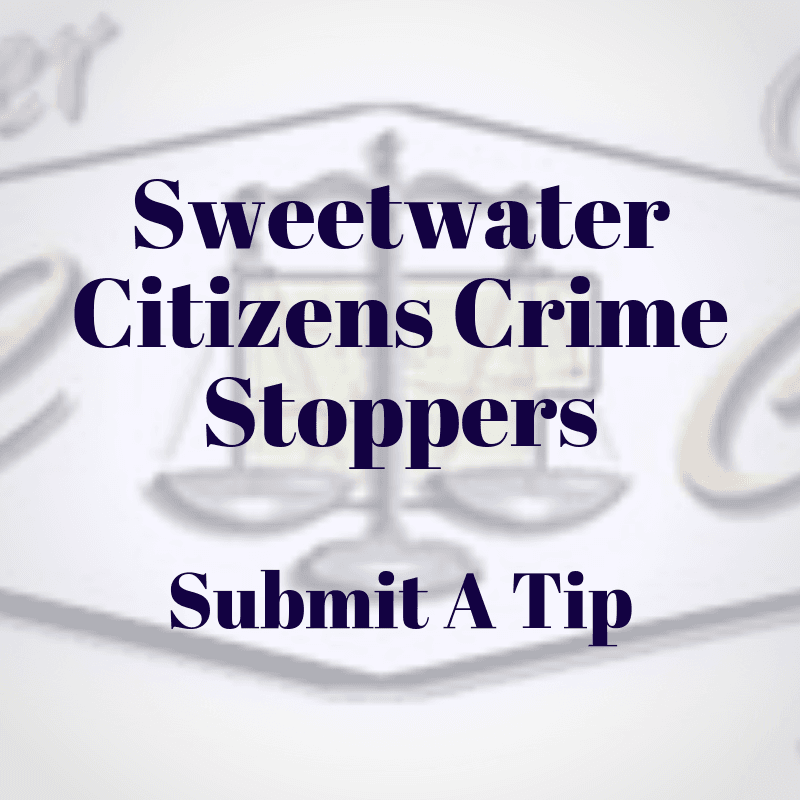 Sweetwater Citizens Crime Stoppers pic Opens in new window