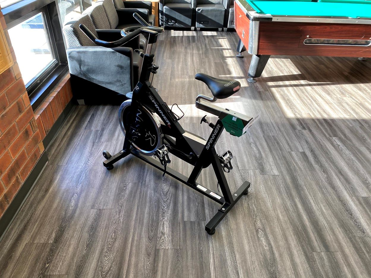 Game Area Spin Bike